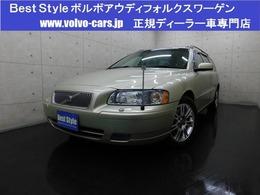 ボルボ V70 インスクリプション 2006モデル/本革/サンR/ナビ/Bカメラ/保証
