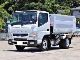 三菱ふそう キャンター 3t アームロール 新品荷箱付 TPG-FBA50