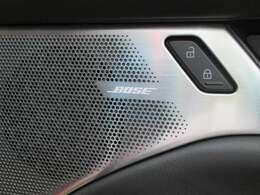 大迫力の音楽が楽しめるBOSEサウンドシステム搭載してます。