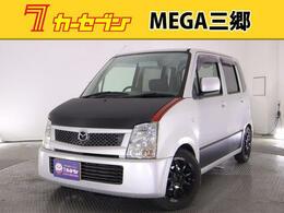 マツダ AZ-ワゴン 660 FX 社外ナビ 5速MT キーレス