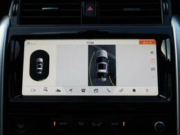 全方位カメラを装備しており、車を真上から見下ろしているような映像を映し出します。ステアリング舵角に合わせて動くガイドライン、ソナーも内蔵していますので女性の方でも安心してお乗りいただけます。
