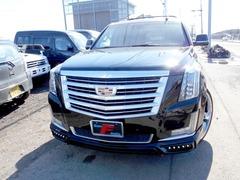 キャデラック エスカレード の中古車 AWD 6.2黒革 ESVロング 26AW 北海道岩見沢市 1058.0万円