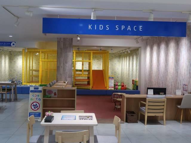 大型キッズスペースもございます♪お子様連れでも安心してごゆっくりしていただけます。