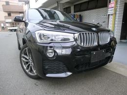 BMW X4 xドライブ35i Mスポーツ 4WD 地デジ クルーズコントロール 衝突警告付