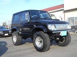 スズキ ジムニー 660 ワイルドウインド 4WD タイヤ4本新品インチアップ15AWマフラー