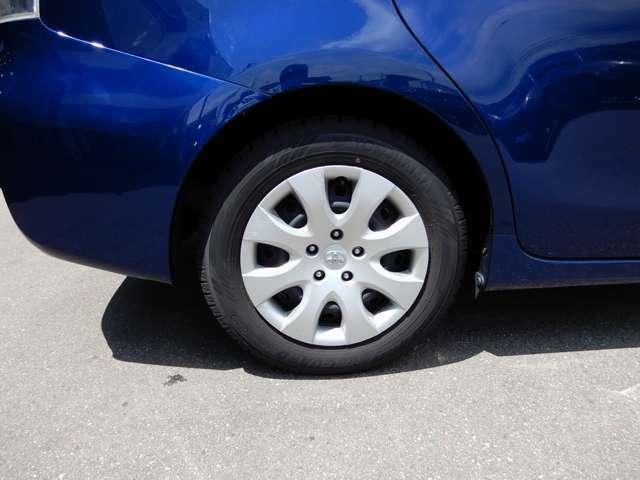 アルミホイールを履いています。タイヤのことでお悩みの際はぜひ一度ご相談ください。