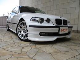 BMW 3シリーズコンパクト 318ti ACシュニッツァーエアロ BBSアルミ