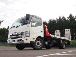 日野自動車 デュトロ 搬送車 衝突軽減装置 横滑り防止 極東フラトップZeroII ラジコン ウインチ