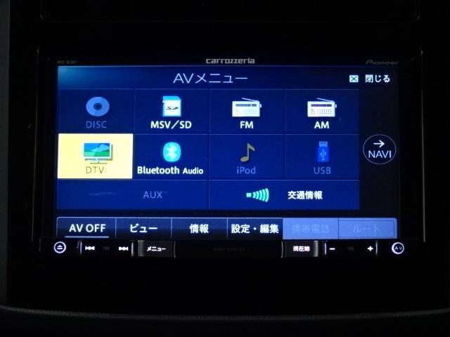 Bluetoothも搭載しております。ナビ、地デジ、バックモニターも搭載。