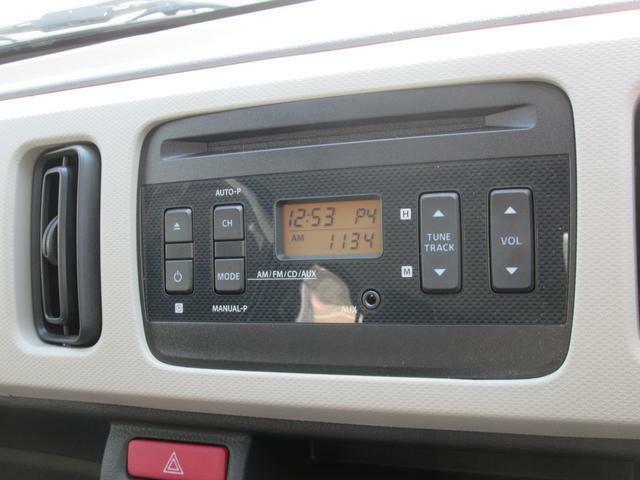 CD・ラジオ付きです。