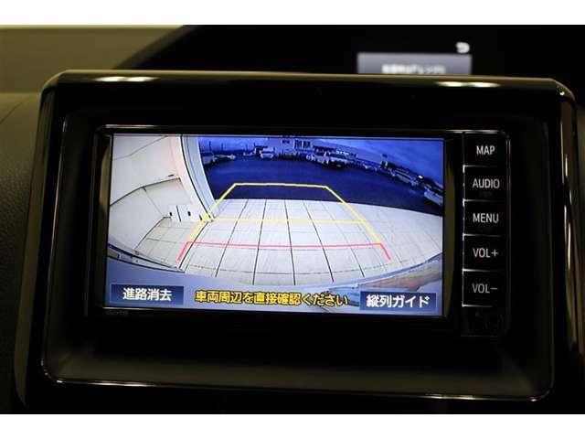 バックモニター付きで車庫入れや後方確認も安心!ただし後方はしっかり目視でも確認してくださいね。