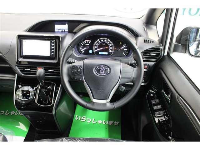 車内はトヨタ自慢のクリーニングを施工、徹底洗浄で隅々まで綺麗です!