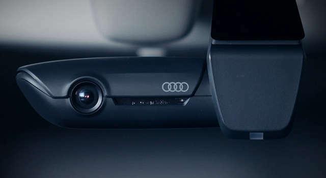 Bプラン画像:機能とデザインを両立させたスタイリッシュなAudi専用設計のドライブレコーダーです。