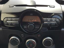 【オーディオ】CD再生やラジオ受信など利用できます。運転時にご利用下さい!