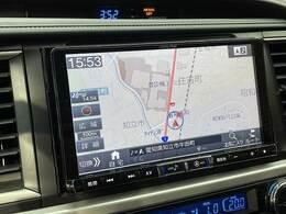 【アルパイン 9型ナビ】大迫力の大画面です!BluetoothオーディオやフルセグTVなど充実の装備です!