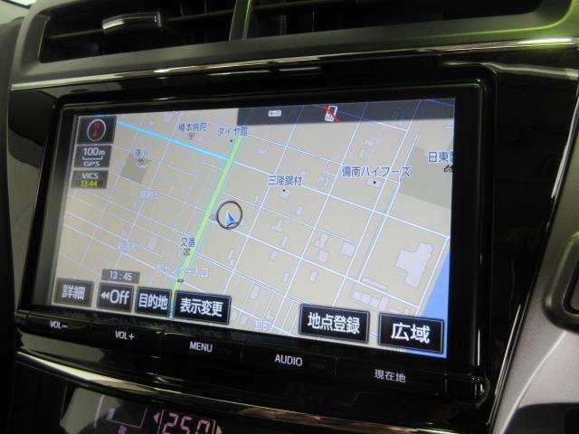 NSZT-Y66Tフルセグチューナー付きメモリーナビで初めての道や遠出も安心です。