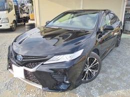 トヨタ カムリ 2.5 WS ワンオーナー純正9インチプリクラッシュ