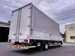 4tアルミウイング 中型ウイング エアサス ワイド 格納式パワーゲート 6200ボディ