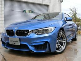 BMW M4クーペ 3.0 6M/T 右ハン 特注カラー:エストリルブルー