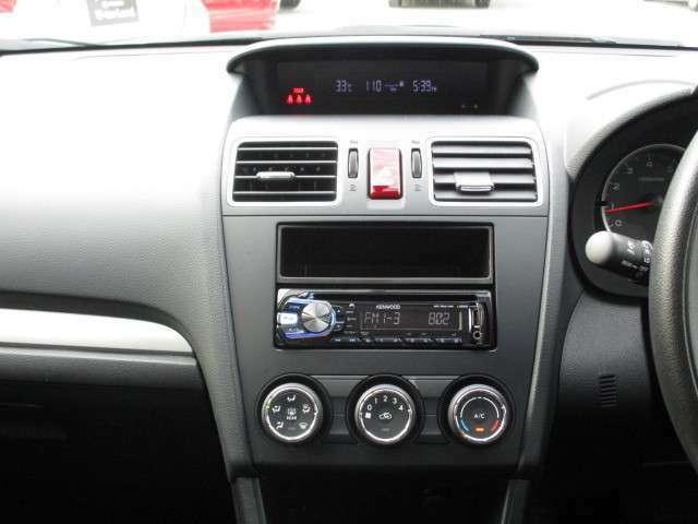 禁煙車なので、綺麗なインパネです。中央にエアコンの操作系が見えます。四季を通じて車内を快適温度に保ちます。★☆★☆★