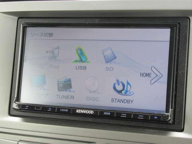 CD、DVDに加えてワンセグTVがご利用可能。