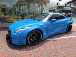 日産 GT-R 3.8 プレミアムエディション 4WD LBワークス エアサス・VELLANO20インチ