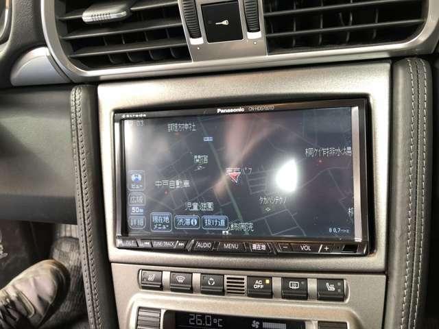 ストラーダHDDナビ&TV バックカメラ!ETCも付いています。