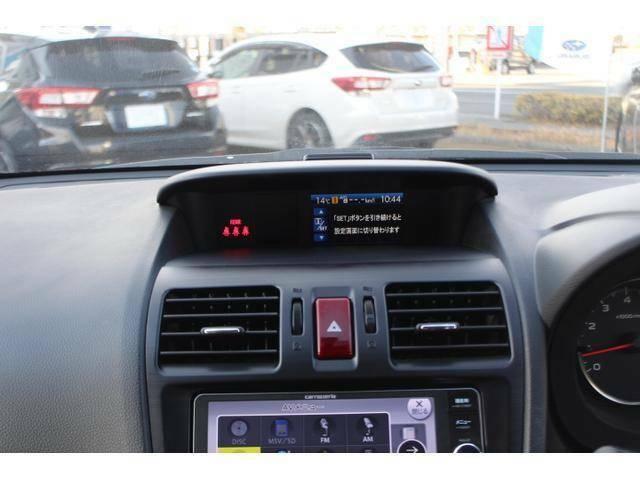燃費情報やクルマの走行状況を表示する多機能なマルチファンクションディスプレイを採用。運転の愉しさをいっそう高めるアイテム