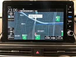 純正10型 地デジフルセグTVナビゲーション(Buletooth/DVD再生 CD録音/CD/etc...) HDMIを使用しミラーリングも可能です。走行中のナビ操作やTV視聴も可能です。