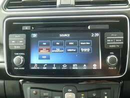 地デジTVやDVDも見れてBluetooth機能も付いたEV専用ナビ!充電スポット更新も付いてます。