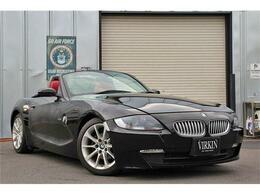 BMW Z4 ロードスター2.5i 赤革 社外HDDナビ フルセグ HID 17AW