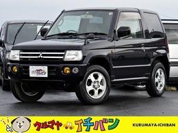 三菱 パジェロミニ 660 XR 4WD 夏冬タイヤ付 サビ無キレい マニュアル5速