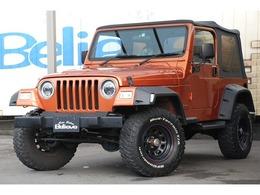 ジープ ラングラー スポーツ ソフトトップ 4WD リフトアップ 15AW 社外ナビ 保証付き