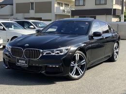 BMW 7シリーズ 740i Mスポーツ 20AW h/kスピ-カ- レ-ザ-ライト ワンオナ