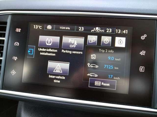 車両の設定やオーディオのソースもモニターからお選びいただけます。