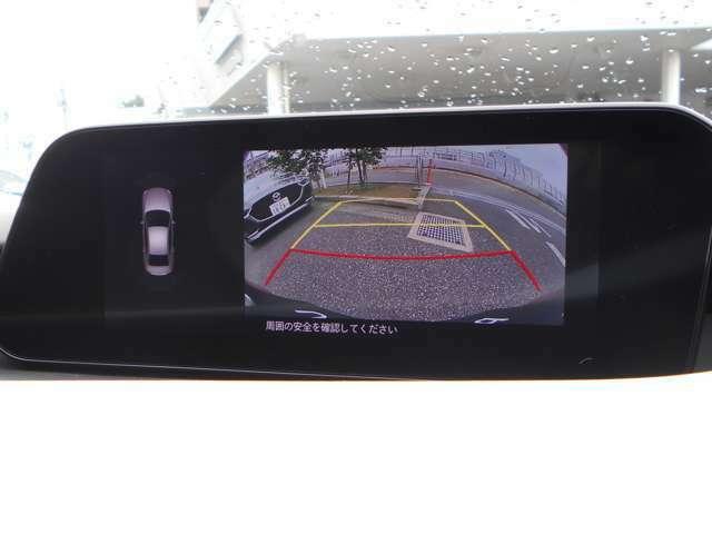 360°モニターで安全確認をサポートします