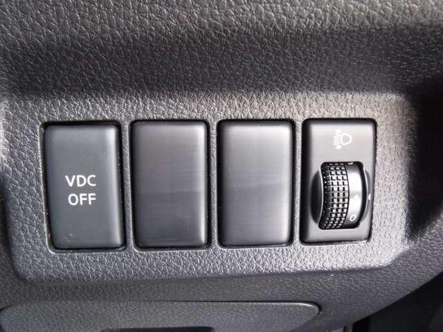 VDC(横滑り防止装置)で冬場も安心です!!