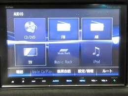 CD/DVD/SD/TV/Bluetoothに対応しております
