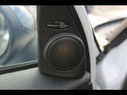 ハーマンカードンサウンドシステム装備。上質なサウンドでよりドライブを楽しんでいただけます。