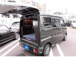 スズキ エブリイ 660 ジョイン ハイルーフ 5AGS車 軽キャンパー新車装着100Vシンク 走行充電