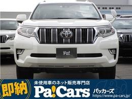 トヨタ ランドクルーザープラド 2.7 TX Lパッケージ 4WD 登録済未使用車 OPホイール サンルーフ