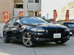 BMW 5シリーズツーリング 528i 革シート 純HDDナビ Bカメラシートヒーター
