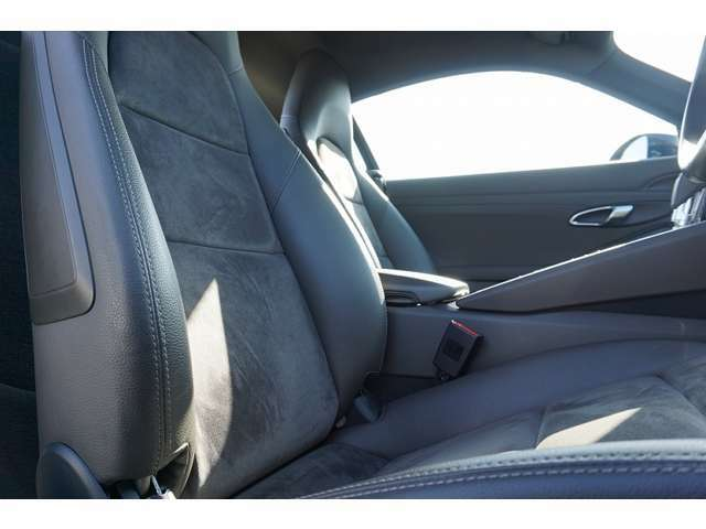 フロントシート・背もたれのみ電動です。
