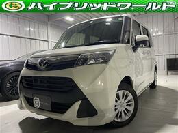 トヨタ タンク 1.0 X S 衝突安全・Bカメ・ETC・片側Pスラ