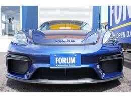 718スパイダー 新車並行 左ハンドル 6速MT スパイダークラッシックインテリアパッケージ 有償カラー(ゲンチアンブルーメタリック) PCCB オプショントータル400万以上!!!