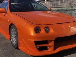 ホンダ インテグラ 1.8 Si VTEC 自社 ローン ガラスコーティング 車高調