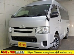 トヨタ ハイエースバン ハイエースバン DX ハイルーフ ロング 1.25t 保証書 ガソリン AT