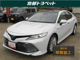 トヨタ カムリ 2.5 G レザーパッケージ トヨタ認定中古車 SDナビ サンルーフ