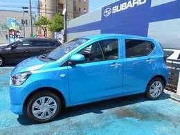 カラーは『スプラッシュブルー・メタリック』!!鮮やかなブルーカラープレオプラス入庫!!運転支援システム『スマートアシストIII』搭載!!走行少ない7千キロ!!お探しの方はお早目にご連絡下さいね!!!