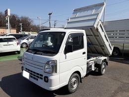 スズキ キャリイ 660 頑丈ダンプ 3方開 4WD 5速マニュアル 純正ナビ フルセグTV